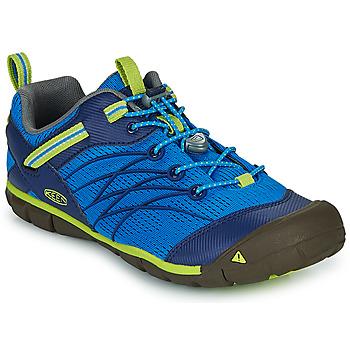 Sapatos Rapaz Sandálias desportivas Keen CHANDLER CNX Azul / Verde