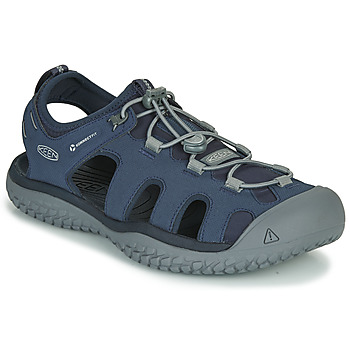 Sapatos Homem Sandálias desportivas Keen SOLR SANDAL Azul / Cinza