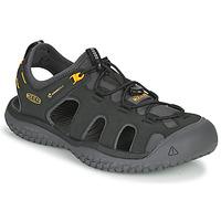 Sapatos Homem Sandálias desportivas Keen SOLR SANDAL Preto