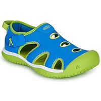 Sapatos Criança Sandálias desportivas Keen STINGRAY Azul / Verde