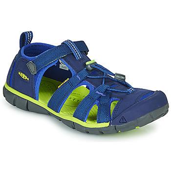 Sapatos Criança Sandálias desportivas Keen SEACAMP II CNX Azul / Verde