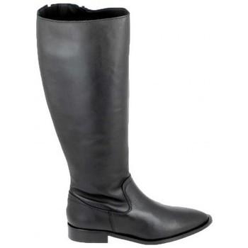 Sapatos Botas Porronet Botte Bost Noir Preto