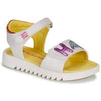 Sapatos Rapariga Sandálias Agatha Ruiz de la Prada SMILES Branco