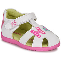 Sapatos Rapariga Sandálias Agatha Ruiz de la Prada HAPPY Branco / Rosa