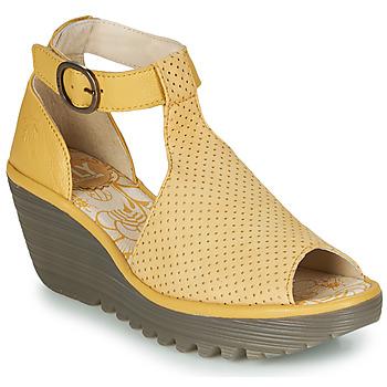 Sapatos Mulher Sandálias Fly London YALLS Amarelo