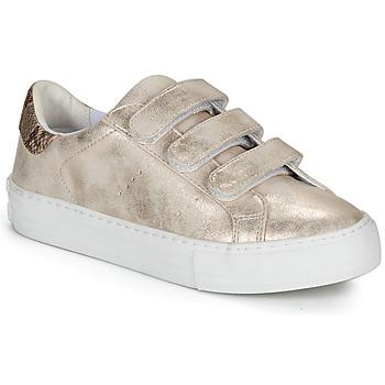 Sapatos Mulher Sapatilhas No Name ARCADE STRAPS Bege