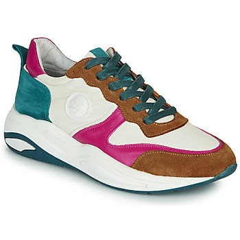 Sapatos Mulher Sapatilhas Pataugas FRIDA Branco / Multicolor