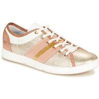 Sapatos Mulher Sapatilhas Pataugas JUMEL/M Cru / Ouro