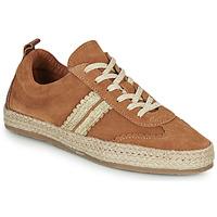 Sapatos Mulher Alpargatas Pataugas PIA Conhaque / Ouro