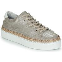 Sapatos Mulher Sapatilhas Pataugas SELLA/T Prata