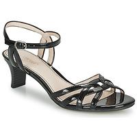 Sapatos Mulher Sandálias Esprit BIRKIN SANDAL Preto