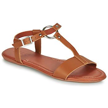Sapatos Mulher Sandálias Esprit KONA T STRAP Conhaque