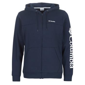 Textil Homem Sweats Columbia Columbia Logo Fleece Full zip Colegial / Navy