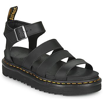 Sapatos Mulher Sandálias Dr Martens BLAIRE Preto