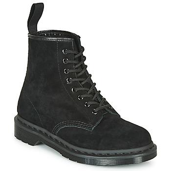 Sapatos Botas baixas Dr Martens 1460 MONO SOFT BUCK Preto