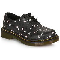 Sapatos Mulher Sapatos Dr Martens 1461 HEARTS Preto