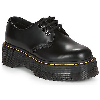 Sapatos Mulher Sapatos Dr Martens 1461 QUAD Preto