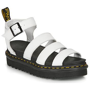 Sapatos Mulher Sandálias Dr Martens BLAIRE HYDRO Branco