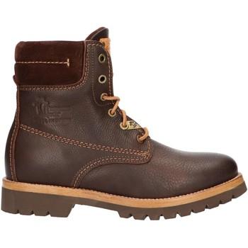 Sapatos Mulher Botas baixas Panama Jack PANAMA 03 IGLOO B46 Marr?n