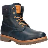 Sapatos Mulher Botas baixas Panama Jack PANAMA 03 IGLOO B50 Azul