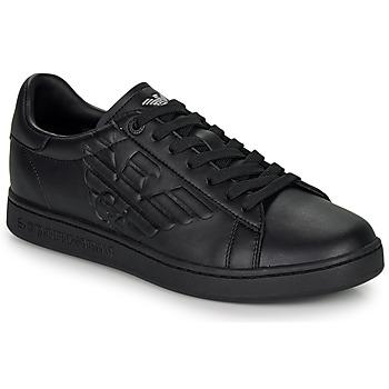 Sapatos Homem Sapatilhas Emporio Armani EA7 CLASSIC NEW CC Preto
