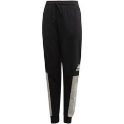 Textil Rapaz Calças de treino adidas Originals - Pantalone nero ED6517 NERO