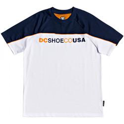 Textil Homem T-Shirt mangas curtas DC Shoes Brookledge ss Branco
