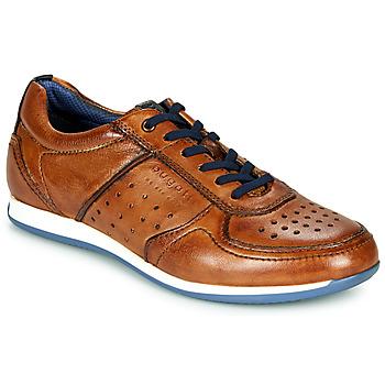 Sapatos Homem Sapatilhas Bugatti TOMEO Castanho