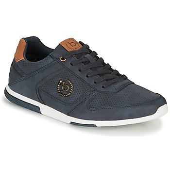 Sapatos Homem Sapatilhas Bugatti REPORT Azul