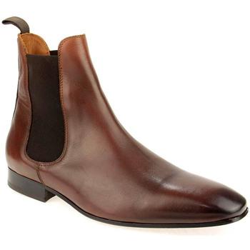 Sapatos Homem Botas baixas Hugo Manuel M Boot Clasic Castanho