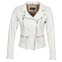 Textil Mulher Casacos de couro/imitação couro Oakwood CAMERA Branco