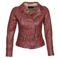 Textil Mulher Casacos de couro/imitação couro Oakwood CAMERA Vermelho