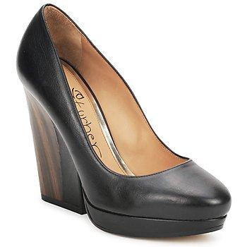 Sapatos Mulher Escarpim Eva Turner CANIO Preto