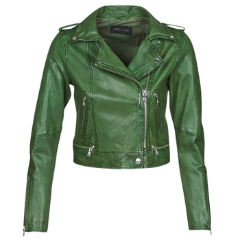 Textil Mulher Casacos de couro/imitação couro Oakwood KYOTO Verde