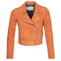 Textil Mulher Casacos de couro/imitação couro Oakwood KEREN Ferrugem