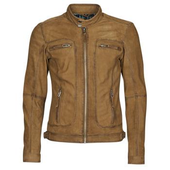 Textil Homem Casacos de couro/imitação couro Oakwood PLEASE Conhaque