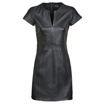 Textil Mulher Vestidos curtos Oakwood PLEASE Preto