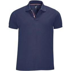 Textil Homem Polos mangas curta Sols PATRIOT FASHION MEN Azul