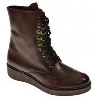 Sapatos Mulher Botas baixas Wikers 57264 Rojo