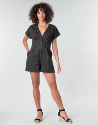 Textil Mulher Macacões/ Jardineiras Pepe jeans SHERGIA Preto