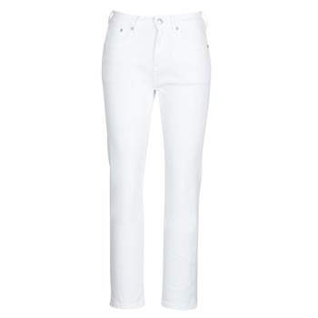 Textil Mulher Calças Jeans Pepe jeans MARY Branco
