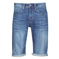Textil Homem Shorts / Bermudas Pepe jeans CASH Azul