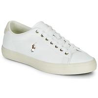 Sapatos Homem Sapatilhas Polo Ralph Lauren LONGWOOD-SNEAKERS-VULC Branco