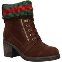 Sapatos Mulher Botins Chika 10 IZAL 05 Marr?n