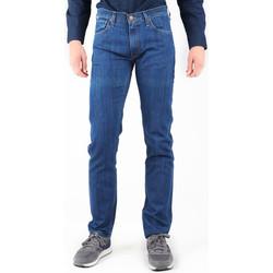 Textil Homem Calças Jeans Lee Daren L707AA46 granatowy