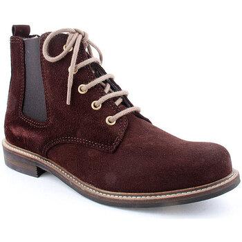 Sapatos Mulher Botas baixas Heergo L Boot CASUAL Castanho