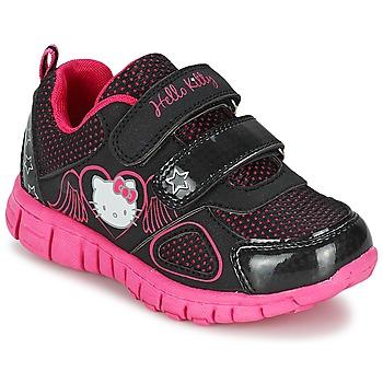 Sapatos Rapariga Sapatilhas Hello Kitty BASEMO PHYL Preto
