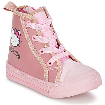 Sapatos Rapariga Sapatilhas de cano-alto Hello Kitty TANSIOUR Rosa