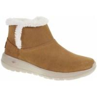 Sapatos Mulher Botas de neve Skechers ON The GO Joy Cor de mel