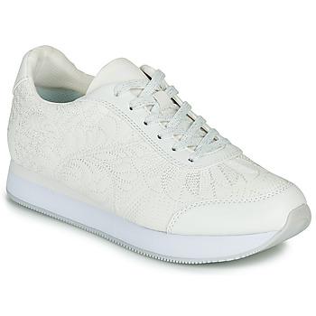 Sapatos Mulher Sapatilhas Desigual GALAXY LOTTIE Branco
